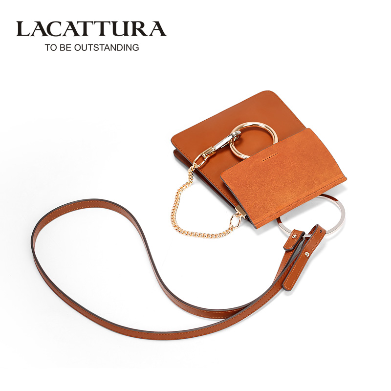 A1308 2017 Small Chain Women Messenger Suede Bags Envelope Patchwork Clutch Bag Rings sac Tassel Satchel