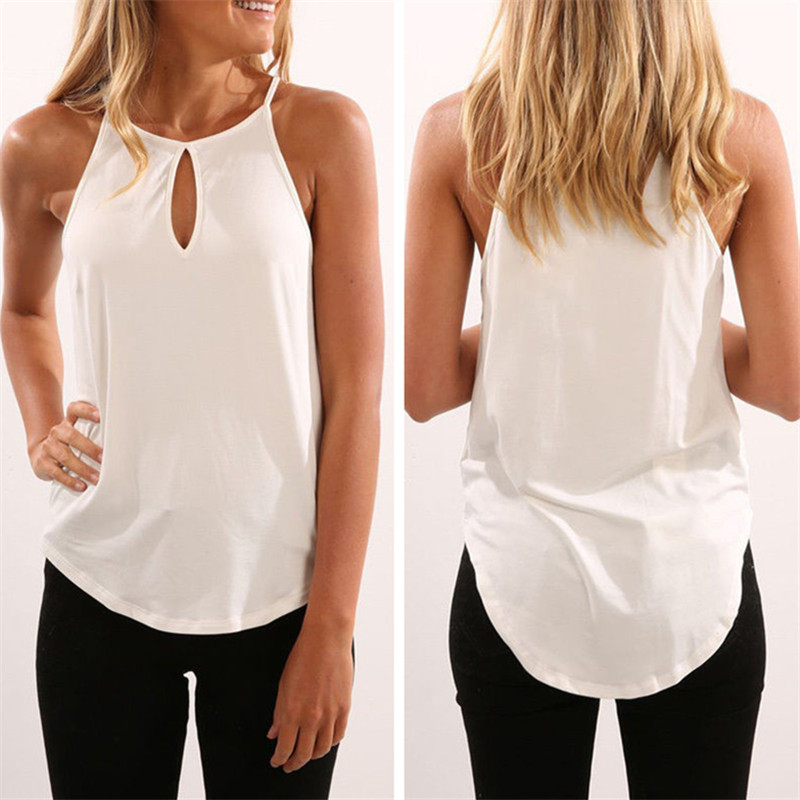 4 Color 4 Size Sexy Hollow Out Shirt Women Cotton Solid Female Summer Beach Casual Tshirt T-shirt Women Tops Tees