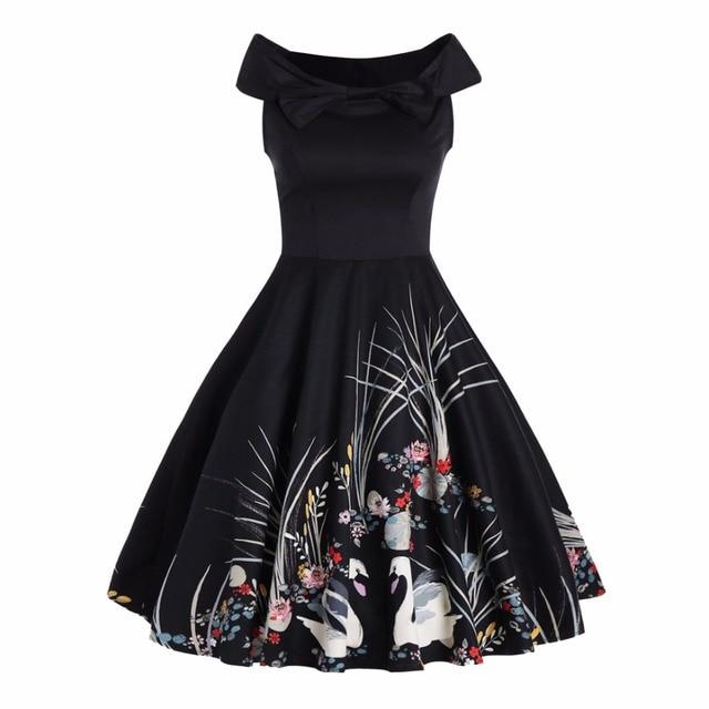 Alternative Kleidung 50 s vintage kleid retro kleid 1950 s stil pin up rockabilly