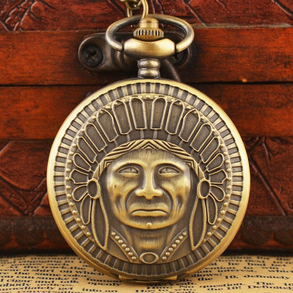 Black Full Steel Luminous Mechanical Pocket Watch Steampunk Vintage Analog Skeleton Hand Winding Mechanical Pocket Watch