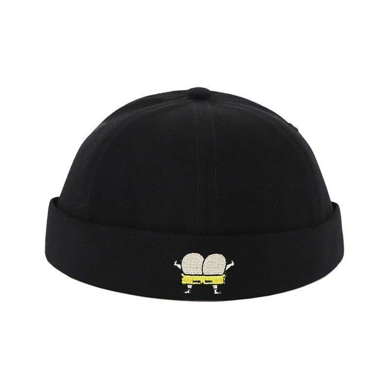 Beanie Biker-Hat Sailor Street Docker Fashion Cotton Women Children Casual Loop for Pumpkin