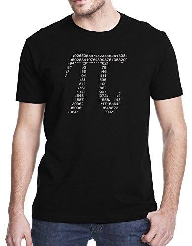 Short Top O Neck T Shirt Fashion Creative Design Summer Hot Sale Pi Letter Math Design MenS O Neck Cotton T Shirt