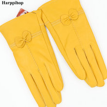 High quality Women's fashion winter gloves For Ladies' More warm Add wool