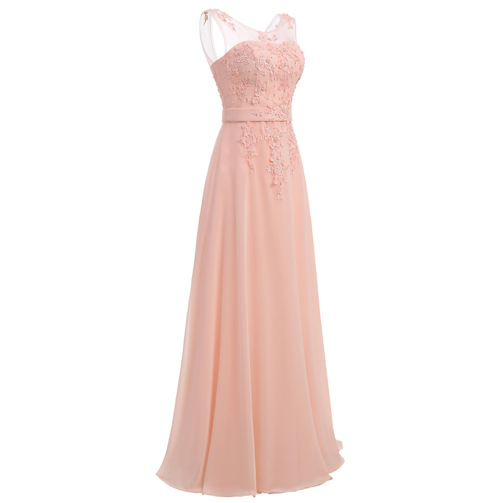 Floor-Length Chiffon Long Bridesmaid Dress Gown 2017 New Fashion Formal Bridesmaid Dresses 2