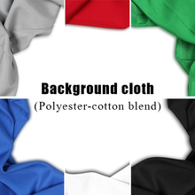 4*3m/13*9.8ft Professional Green/White/Black Muslin Backdrop Photo Background Photography Backdrops for Photo Studio Backgrounds