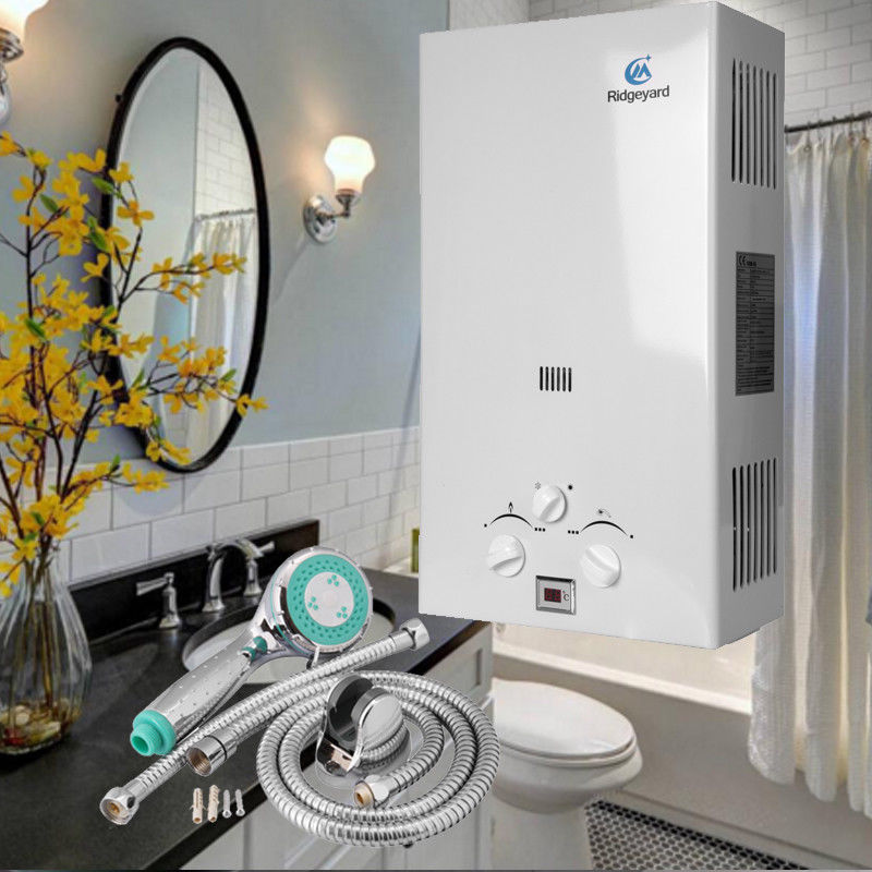 (Ship from USA) 10L 20KW Gas LPG Hot Water Heater Instant Propane 10/min Tankless Boiler Shower