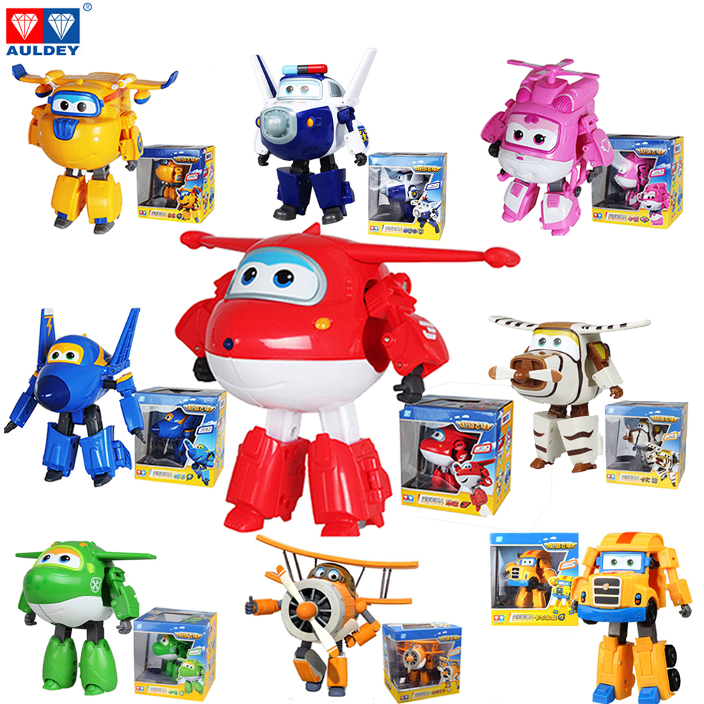 Bello New Super Wings Transforming Character Jet