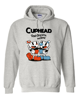 2017 Hot Mugman Game Cuphead Hoodies Three Colors Hoodie Coat Cosplay Costume Unisex Outwears
