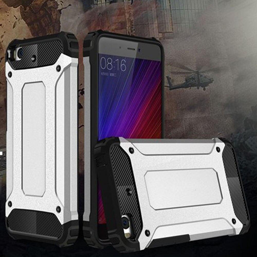 Case for Xiaomi Mi 5 Slim Fit TPU Silicon Hard PC Back Tank Armour - Բջջային հեռախոսի պարագաներ և պահեստամասեր - Լուսանկար 1