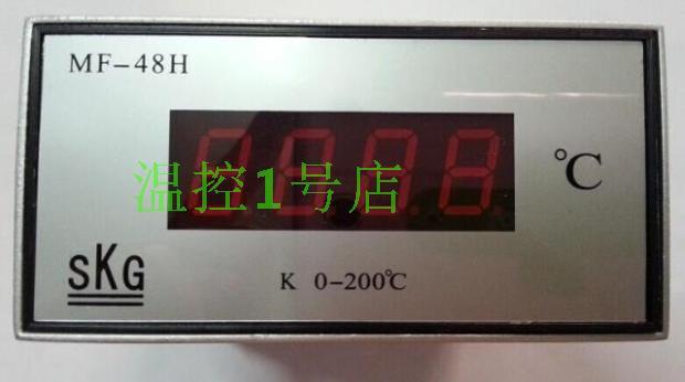 SKG / aluminum temperature indicator MF-48H temperature controller genuine security electronic temperature controller shelf  цены