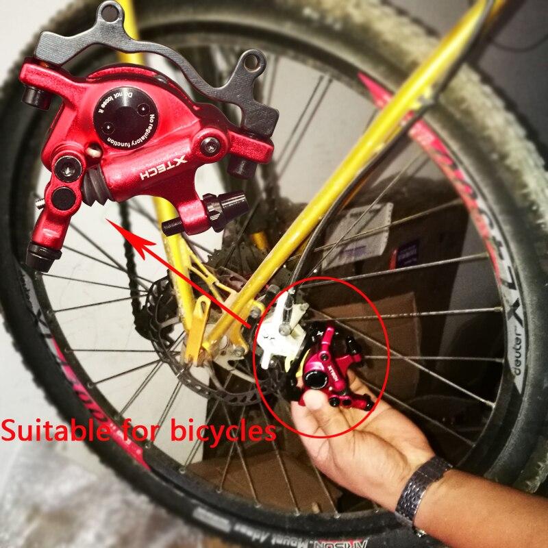 ZOOM MTB Bike Hydraulic Disc Brakes Levers Calipers Front Rear set Brake Caliper