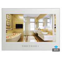 Free Shipping 15 6 Inch Android 4 2 Bathroom TV IP66 Waterproof Mirror TV With WIFI