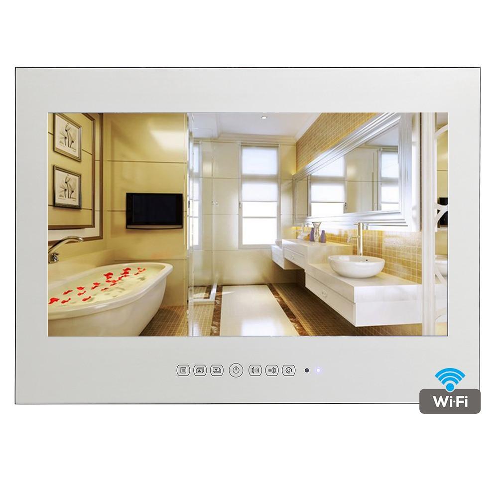 Miroir Salle De Bain Wifi ~ souria 15 6 pouce android 4 2 salle de bains tv ip66 tanche fuite