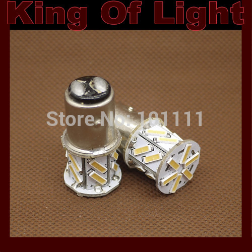 10x car led P21/5w s25 bay15d 1157 18 led smd 7014 18smd brake lights bulb lamp Free shipping