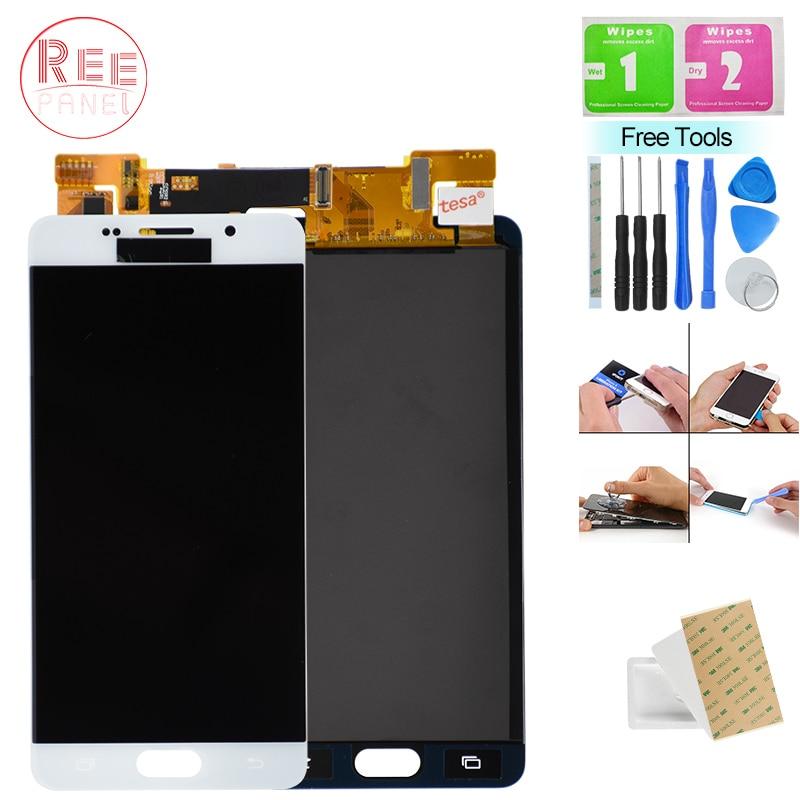 A510F LCD pour Samsung Galaxy A5 2016 A510 A510F écran LCD écran tactile Assemblée Pour Samsung A5 2016 A510 SM-A510F Affichage LCD
