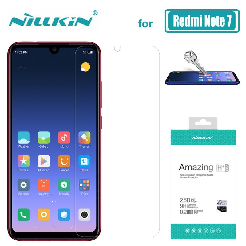 Xiaomi Redmi Hinweis 7 6 5 Pro Glas Nillkin 9 H + Pro Gehärtetem Glas Screen Protector für Xiaomi Redmi hinweis 7 6 5 Pro Nilkin Glas