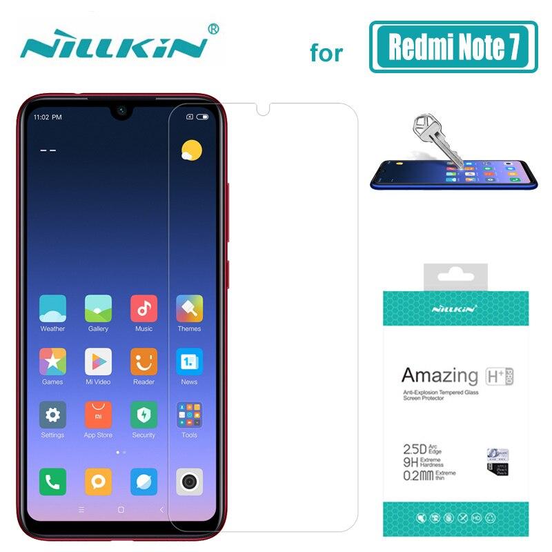 Xiaomi Redmi Hinweis 7 6 5 Pro Glas Nillkin 9H + Pro Gehärtetem Glas Screen Protector für Xiaomi Redmi hinweis 7 6 5 Pro Nilkin Glas