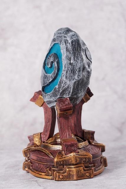 Creative Figure WOW HearthStone Night  Glowing furnace stone Toy Figure 4