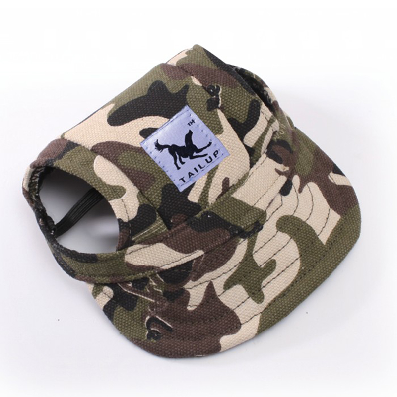 Sun Hat For Dogs Fashion Cute Pet Hund Casual Bomuld Baseball Cap - Pet produkter - Foto 4