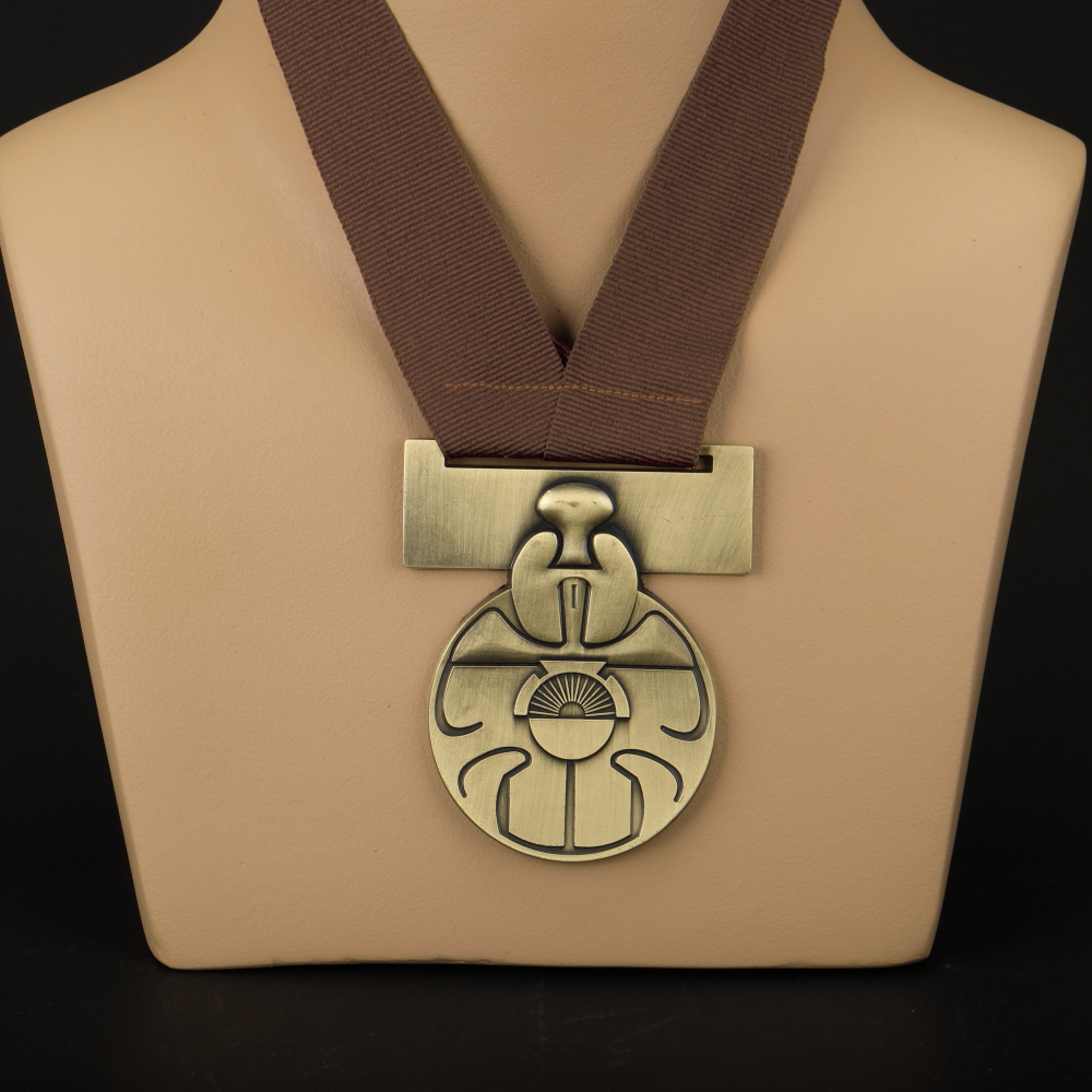Star Wars Medal of Yavin Luke Skywalker Han Solo Chewbacca Medal Replica Alloy Star Wars Accessories Gift Souvenir (2)