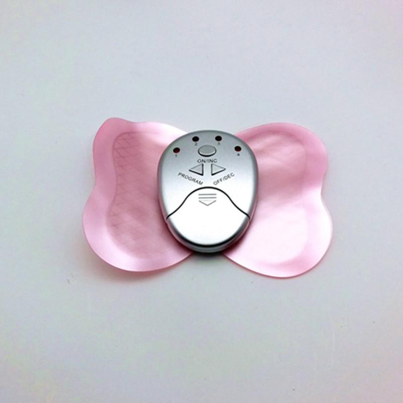 Electronic Mini Electronic Butterfly Muscle stimulator Massager Slimming Body Massage pad (6)