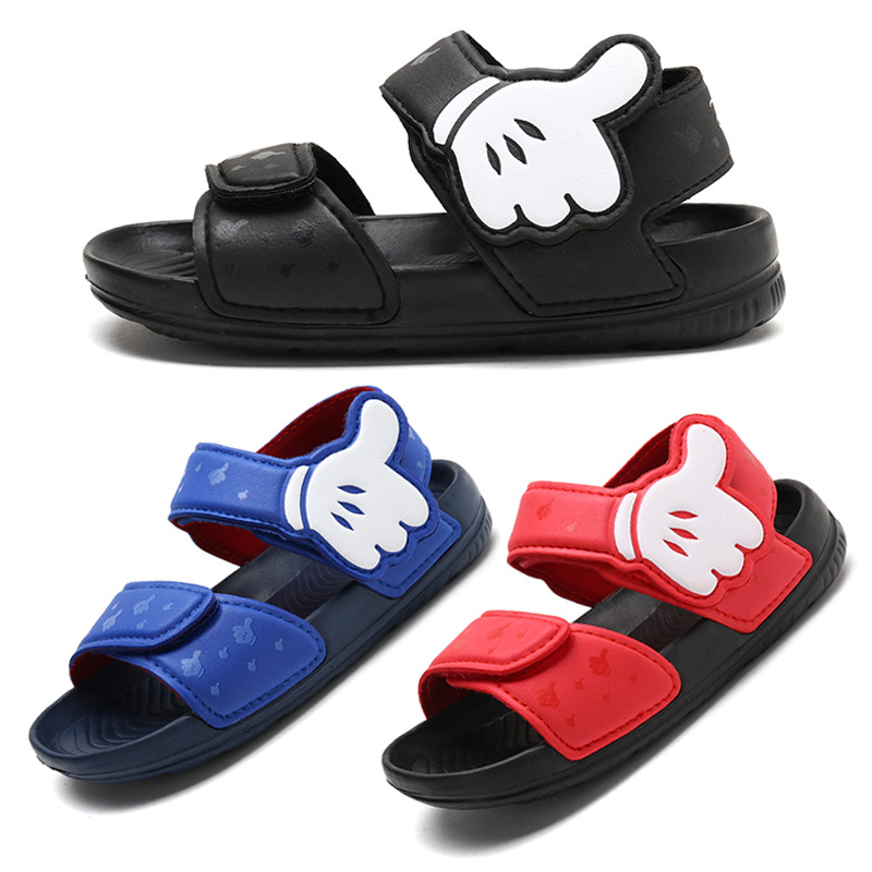 3-8 Yrs Boy and Girls Sandals 2018 New Summer Child Cap Beach Sandals Child Soft Bottom Anti-skid Kids Sandals3-8 Yrs Boy and Girls Sandals 2018 New Summer Child Cap Beach Sandals Child Soft Bottom Anti-skid Kids Sandals