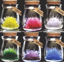 Magical Wishing Crystal With LED Light Wish Grow A Crystals Christmas DIY Growing Hot Kit Kids Wishes Science Toys For Children