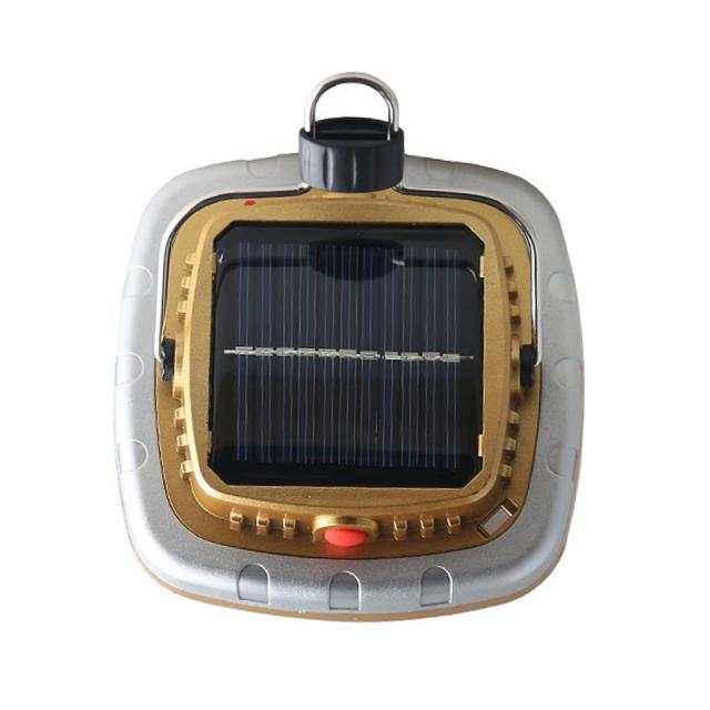 Solar Powered Rechargeable Flashlight