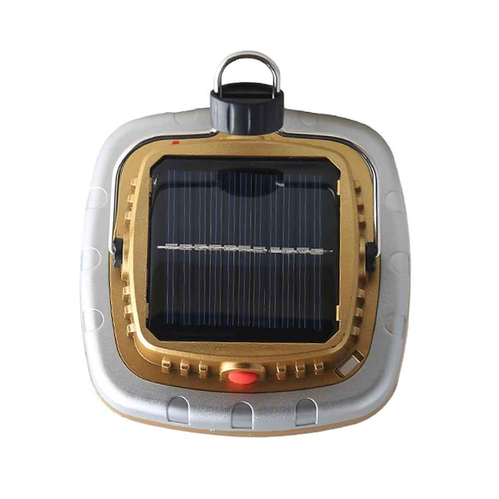 COB Solar Lanterns LED Tent Camping Lamp USB Flashlight Rechargeable Battery Tent Light