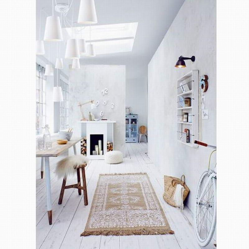 Современная мода большой паук плетеные люстры белый черный ткань оттенков/DIY 10 головок кластеры подвесной потолочный светильник освещение - 5