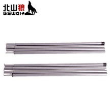200CM * 2 roots. Tent poles, tents extending door frame, canopy rod, galvanized iron   Tent Accessories