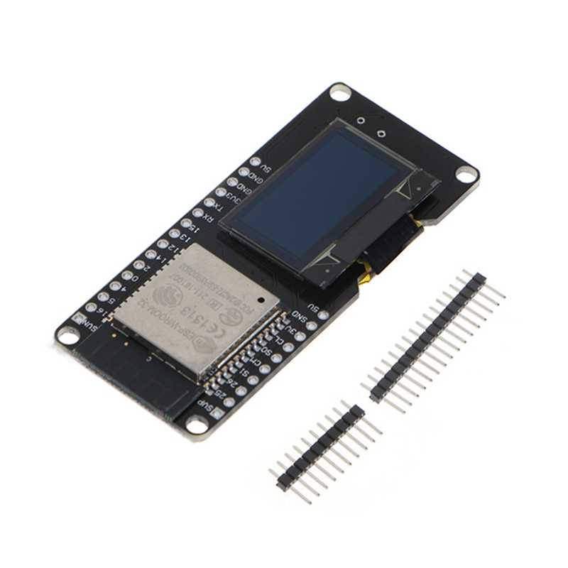 New 2017 ESP32 OLED Wemos WiFi Module+ Bluetooth Dual ESP-32 ESP-32S ESP8266 OLED For Arduino  Hot Sale
