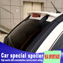 2007 2008 2009 2010 2011 for KIA sportage spoiler by big high quality rear window roof wings rear spoiler by primer sportage цена