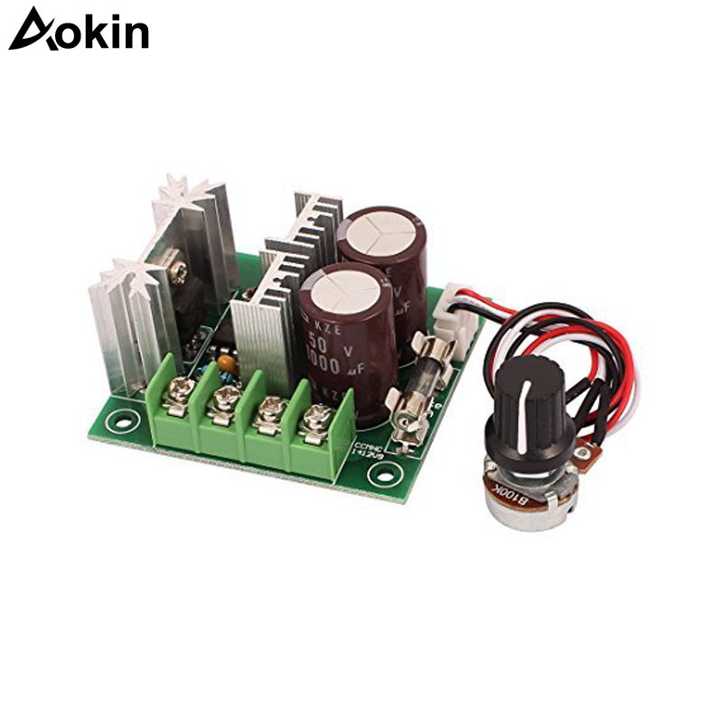DC motor control switch PWM 12V-40V external speed controller Potentiometer 10ADC motor control switch PWM 12V-40V external speed controller Potentiometer 10A
