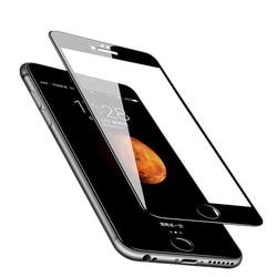 ل فون X XR XS ماكس 5 s 5 SE الزجاج المقسى ل فون 7 8 6 6 s زائد الزجاج الجملة عالية الجودة 2.5D كامل واقي للشاشة