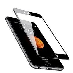 Para o iphone x xr xs max 5 S 5 se vidro temperado para o iphone 7 8 6s plus vidro por atacado de alta qualidade 2.5d protetor tela cheia