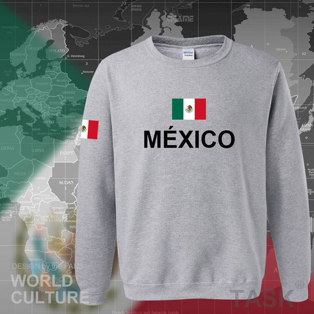 Mexico team 2017 hoodies men sweatshirt sweat new streetwear clothing jersey sporting tracksuit nation Mexican fleece MX MEX 5