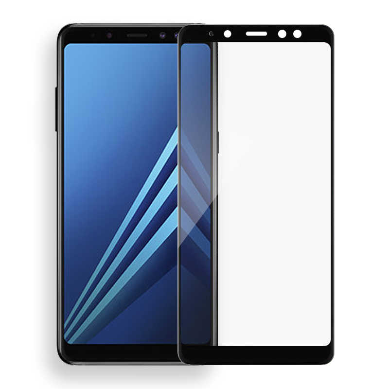 الزجاج المقسى على لسامسونج غالاكسي J8 J6 J4 2018 J5 J7 J2 Prime واقية غطاء كامل واقي الشاشة لسامسونج a6 A8 زائد