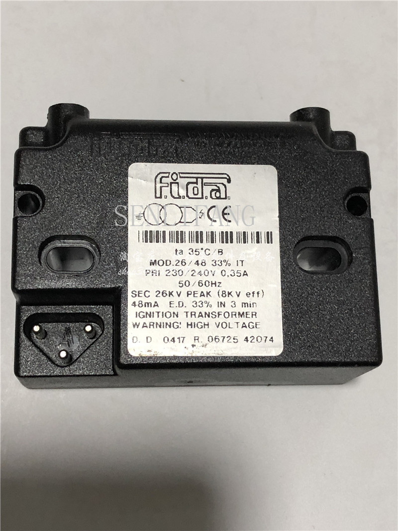 Free Shipping Transformer FIDA Ignition MOD.26/48 33% IT For Burner New & Original Boiler Ignition Transformer Ignition Coil