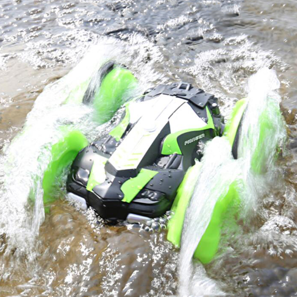 Image 2 - LH C013 2.4GHz Remote Control RC Car Waterproof Off Road Racing Climbing RC Car Amphibious 4WD Remote Control Toys RC Cars-in RC Cars from Toys & Hobbies
