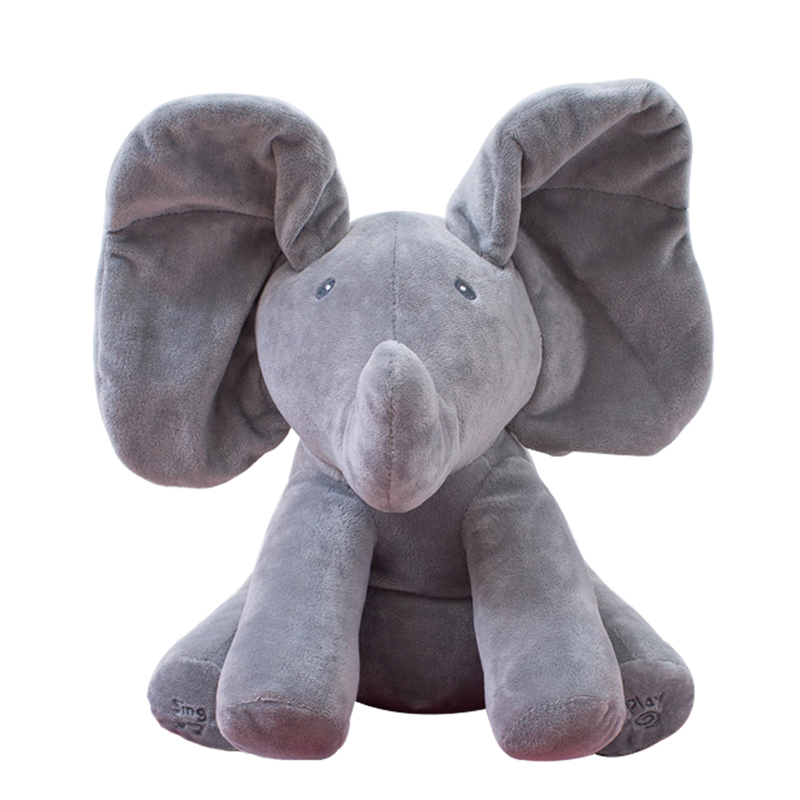 1pc-30cm-Peek-A-Boo-Elephant-Bear-Stuffed-Animals-Plush-Doll-Play-Music-Elephant-Educational-Anti (1)