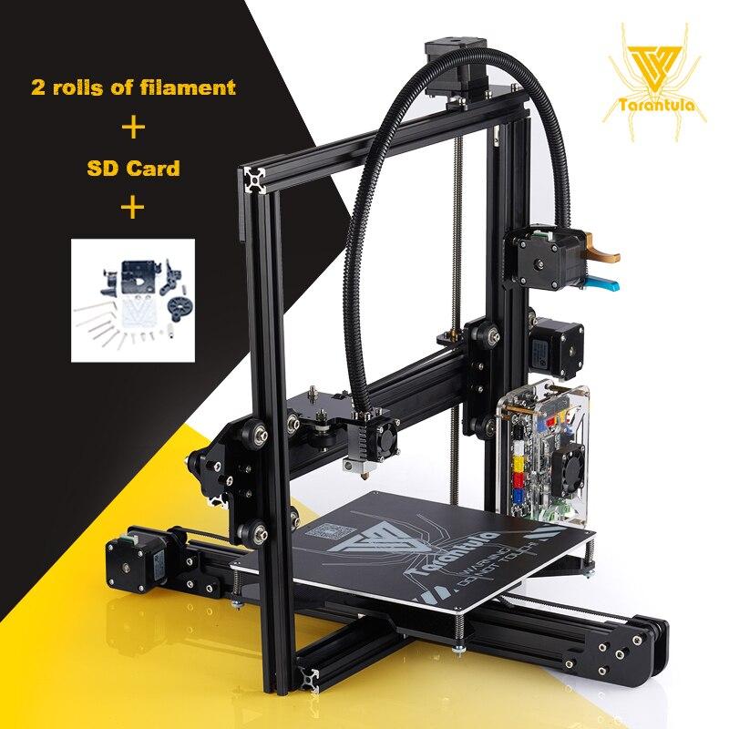 2017 Aluminum FDM rapid 3D Printing TEVO Tarantula MKS Base main board Metal Hotend Cheap 3D