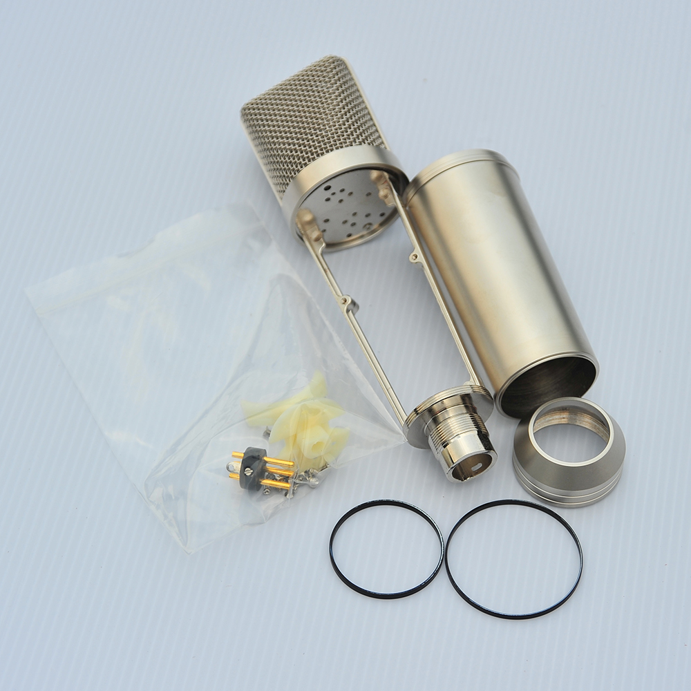High Quality Silver Mircophone Body Shell For All Kinds Of Brand Professional Condenser Microphone And DIY  Player
