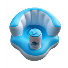 Portable Infant Baby Seat Learning Sitting Seat Inflatable Feeding Chair Indoor Outdoor Safety Cushion Sofa Support Sit Chair baby support seat soft baby sofa infant learning to sit chair keep sitting posture comfortable cotton safety travel car seat