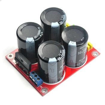 цена на 4x10000uF Capacitor Rectifier Power Supply Amplifier Board for LM3886 TDA7293 DA7294