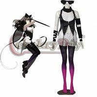 Cosplaydiy RWBY Blake Belladonna Cosplay Costume Adult Women Halloween Carnival Outfit Custom Made D0518