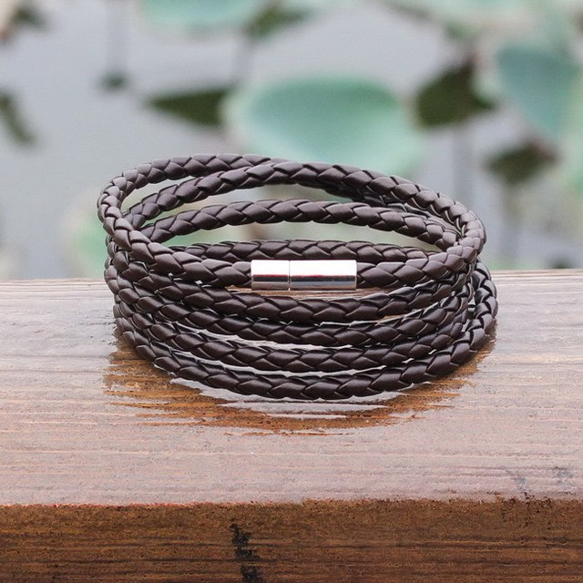 Men's Retro Wrap Leather Bracelets