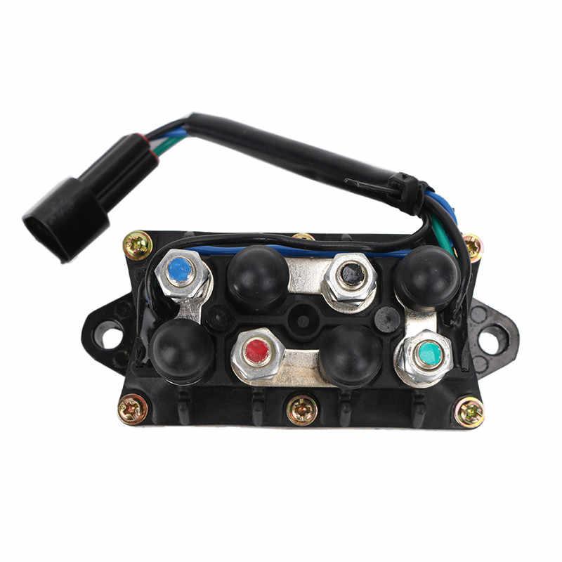 2/4 السكتة الدماغية 12 فولت 3 دبوس التوصيل الجمعية المحركات الخارجية تقليم الطاقة الميل التتابع استبدال لياماها 25 40 50 60 75 90 150 225 250 HP C ~ 5