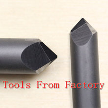 1PCS CNC Stone Material Carving Cutting Knife 70 degree 0.3mm Tip 45mm Length Diamond Cutting Tools Rectangular Lettering Knife