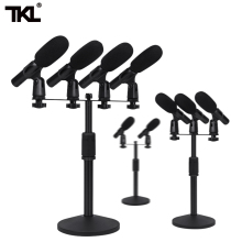 TKL 882 Flexible Stand Wired Table Conference Meeting Room Microphone System high end uhf 8x50 channel goose neck desk wireless conference microphones system for meeting room